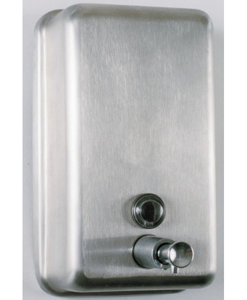 Soap Dispenser Brushed Stainless Steel Aqualogic Wc Ltd