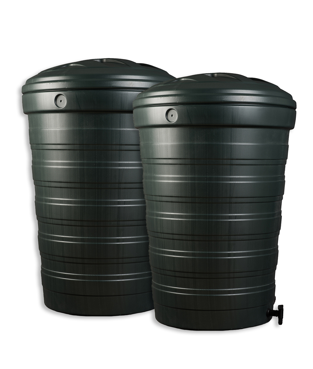 200 Litre Water Butt Set :: Buy One Get One Half Price