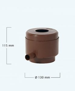 Graf Rainwater Filter Diverter Brown